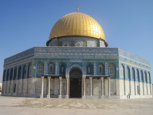 The Dome of the Rock (taken by me August 3, 2011)